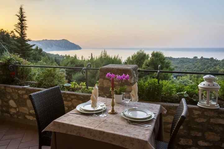 Vista Hotel Internazionale Portonovo Ancona Riviera del Conero